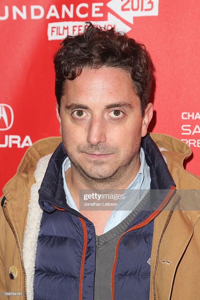 Director Pablo Larrain attends the 'No' premiere at The Marc Theatre during the 2013 Sundance Film Festival on January 18, 2013 in Park City, Utah.