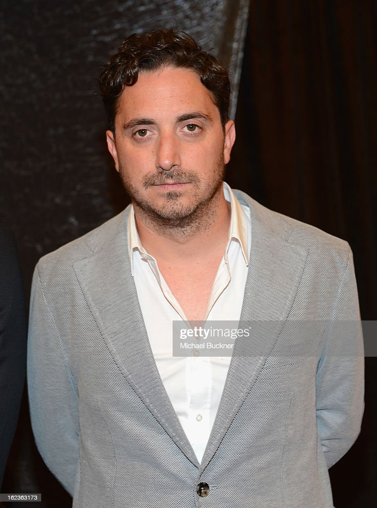 Director Pablo Larraín of the film 'No,' nominee for the Foreign Language Film Award, poses for photographers at the Foreign Language Film Award Photo-Op for the 85th Annual Academy Awards at Hollywood & Highland Center on February 22, 2013 in Hollywood, California.