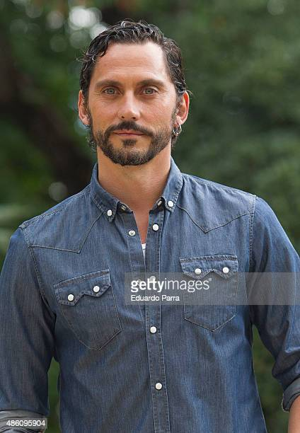 Director Paco Leon attends 'Kiki' filming set photocall at Centro Regional de Innovación on August 31 2015 in Madrid Spain