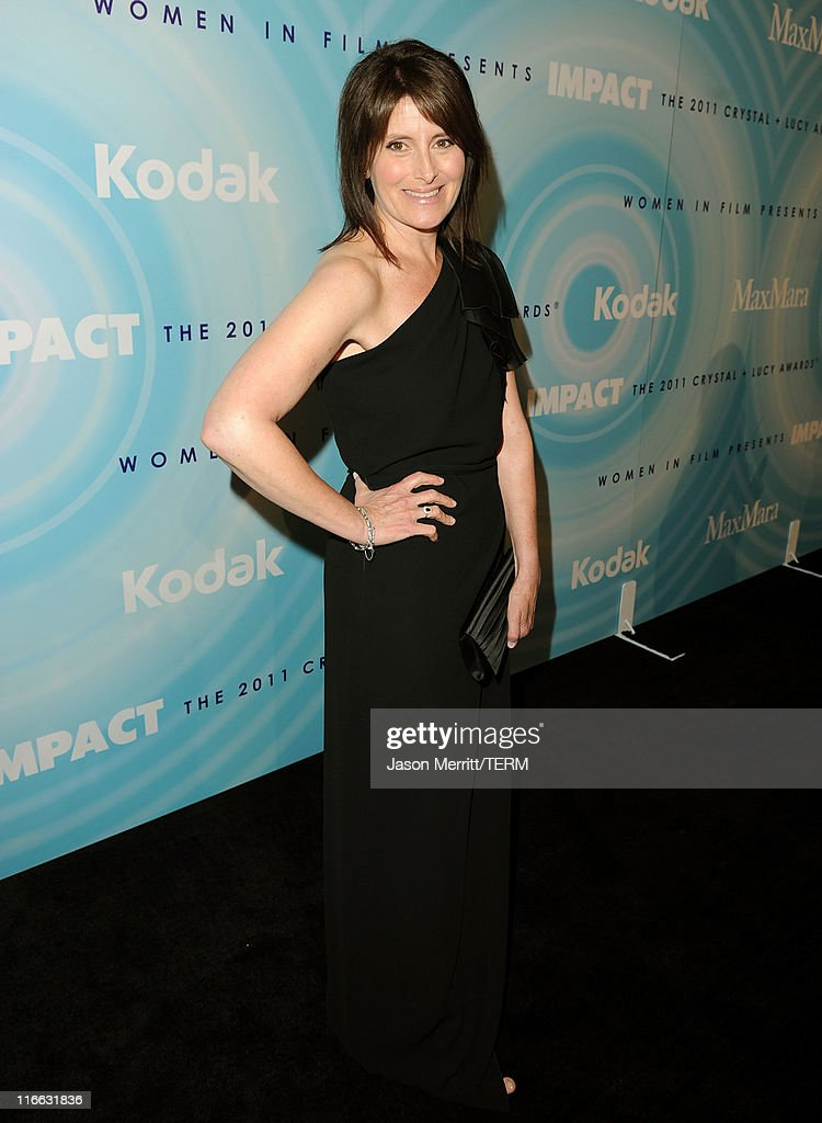Director Pamela Fryman arrives at the 2011 Women In Film Crystal + Lucy Awards with presenting sponsor PANDORA jewelry at the Beverly Hilton Hotel on June 16, 2011 in Beverly Hills, California.