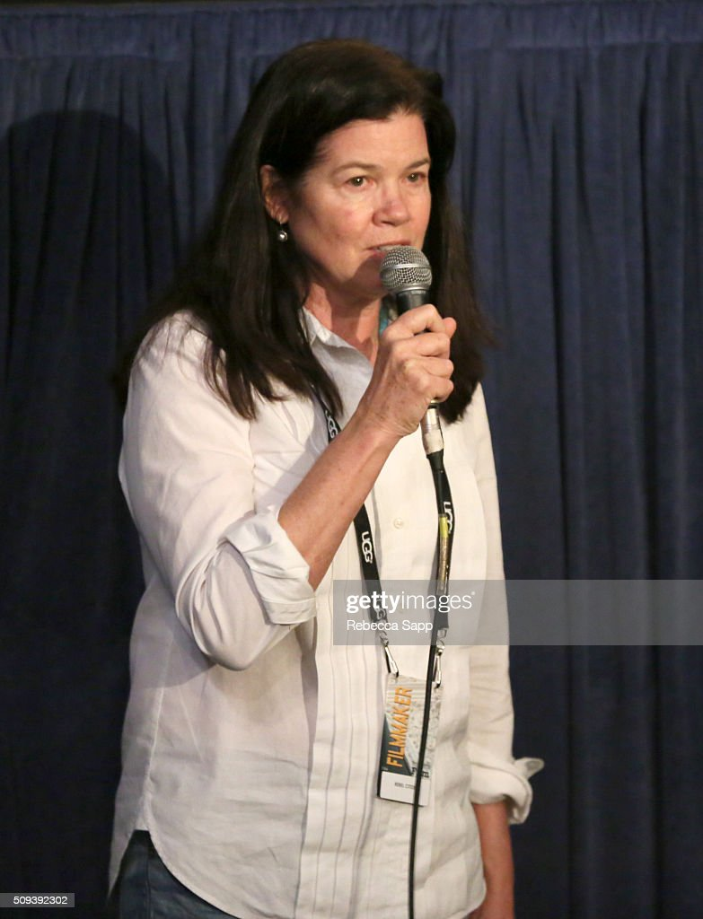Director Pamela Yates speaks at the 'Rebel Citizen' Q&A at the Metro 2 at the 31st Santa Barbara International Film Festival on February 10, 2016 in Santa Barbara, California.