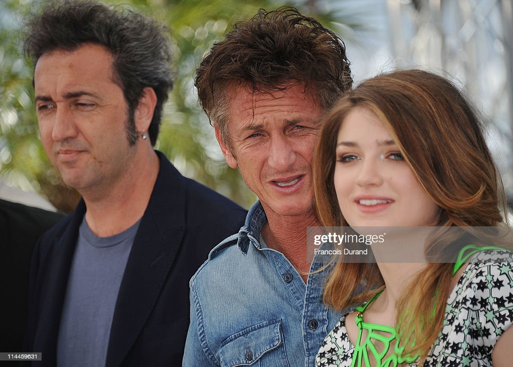 Director Paolo Sorrentino, actor Sean Penn and actress Eve Hewson attend the 'This Must Be The Place' photocall during the 64th Annual Cannes Film Festival at Palais des Festivals on May 20, 2011 in Cannes, France.