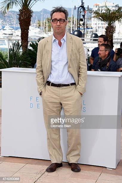 Director Paolo Sorrentino attends a photocall for 'Youth' during the 68th annual Cannes Film Festival on May 20 2015 in Cannes France