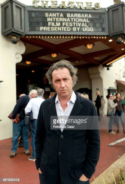 Director Paolo Sorrentino attends a screening of 'The Great Beauty' at the at the 29th Santa Barbara International Film Festival on February 8 2014...