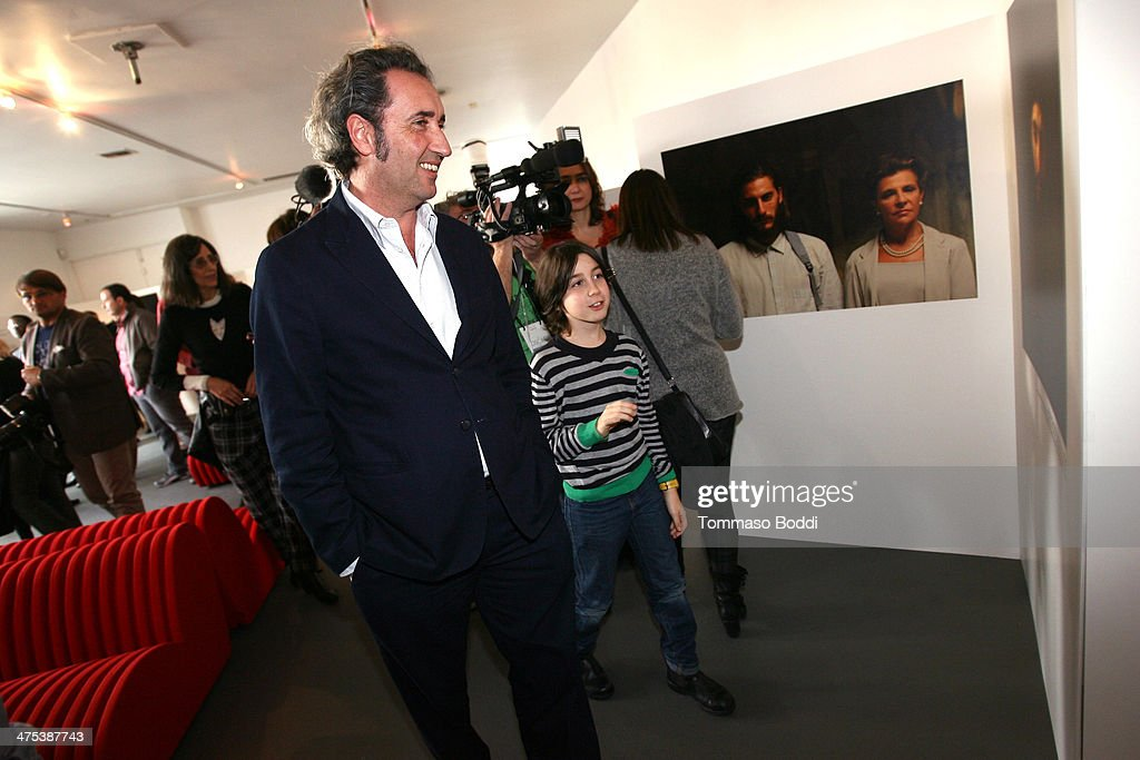 Director Paolo Sorrentino attends the Italian Cultural Institute of Los Angeles hosts 'The Great Beauty Rhymes And Reflections' exhibit held at the...