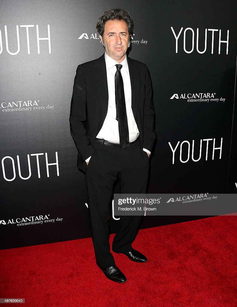 Director Paolo Sorrentino attends the Premiere of Fox Searchlight Pictures' 'Youth' at the DGA Theater on November 17 2015 in Los Angeles California