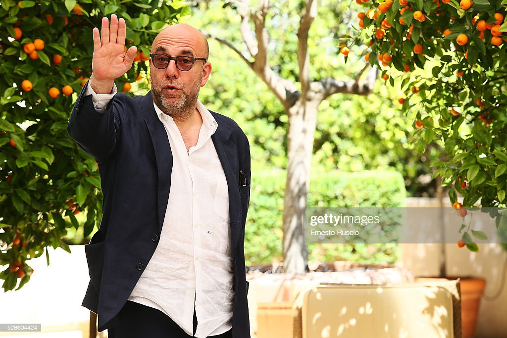 Director Paolo Virzi attends the 'La Pazza Gioia' photocall at Hotel Visconti on May 06, 2016 in Rome, .