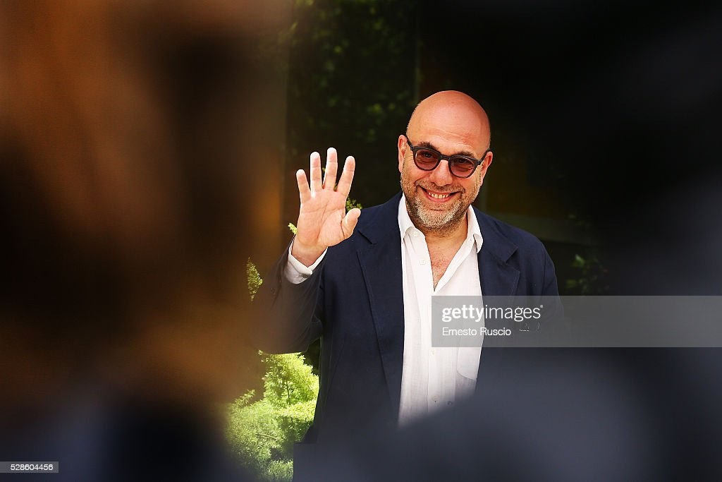 Director <a gi-track='captionPersonalityLinkClicked' href=/galleries/search?phrase=Paolo+Virzi&family=editorial&specificpeople=3021843 ng-click='$event.stopPropagation()'>Paolo Virzi</a> attends the 'La Pazza Gioia' photocall at Hotel Visconti on May 06, 2016 in Rome, .