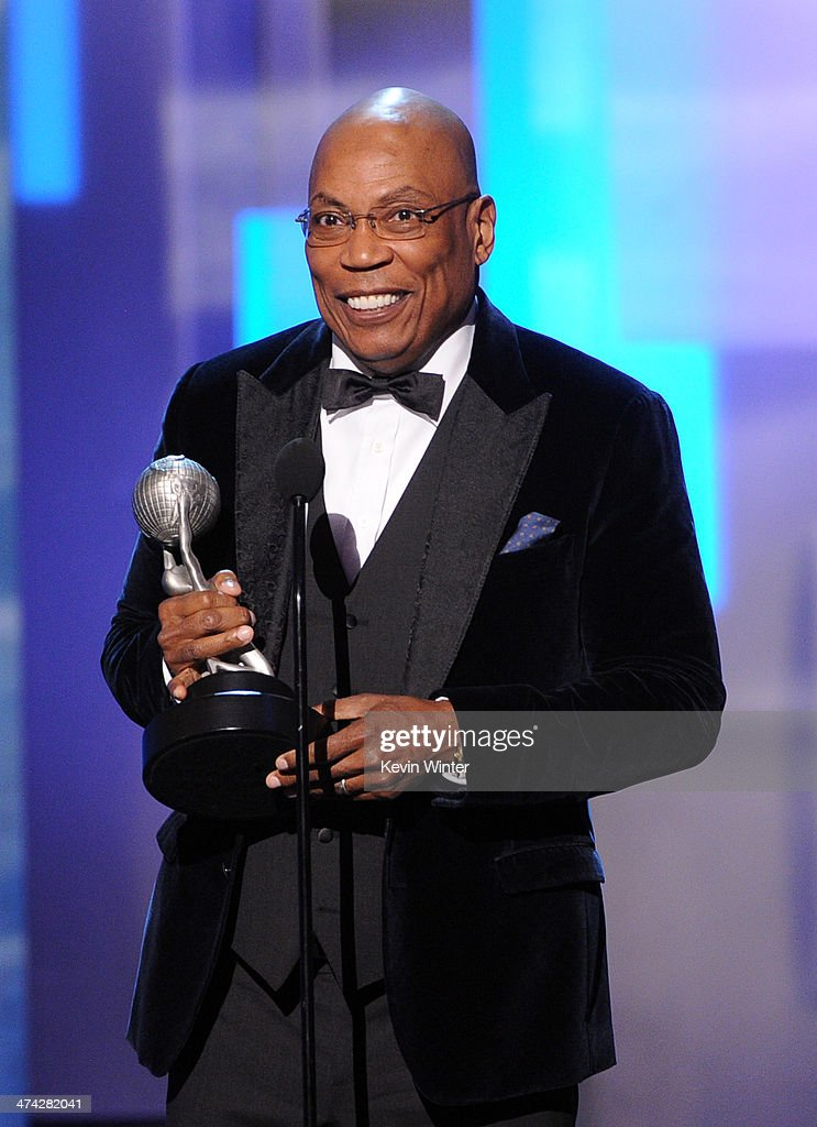 Director <a gi-track='captionPersonalityLinkClicked' href=/galleries/search?phrase=Paris+Barclay&family=editorial&specificpeople=792316 ng-click='$event.stopPropagation()'>Paris Barclay</a> accepts the Hall of Fame award onstage during the 45th NAACP Image Awards presented by TV One at Pasadena Civic Auditorium on February 22, 2014 in Pasadena, California.