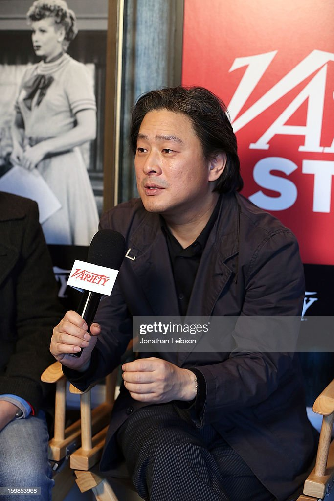 Director Park Chan-Wook attends Day 3 of the Variety Studio At 2013 Sundance Film Festival on January 21, 2013 in Park City, Utah.