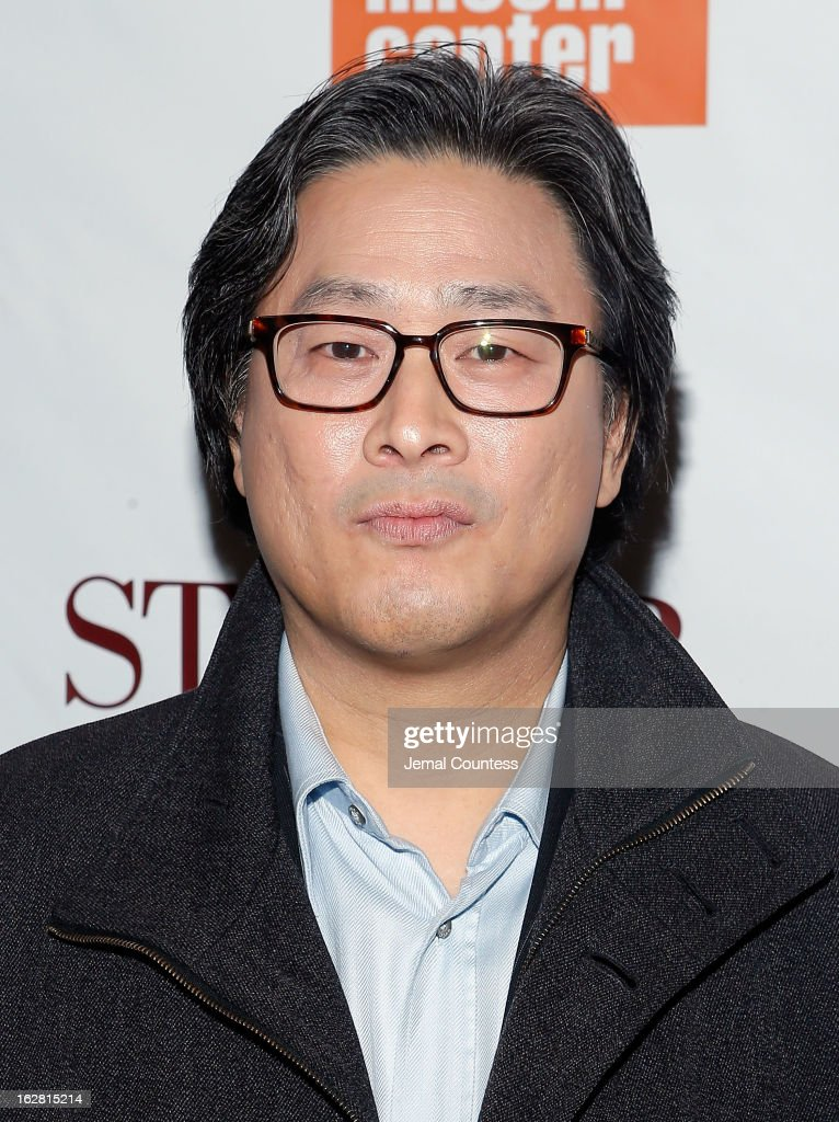 Director <a gi-track='captionPersonalityLinkClicked' href=/galleries/search?phrase=Park+Chan-wook&family=editorial&specificpeople=814445 ng-click='$event.stopPropagation()'>Park Chan-wook</a> attends the 'Stoker' New York Screening at The Film Society of Lincoln Center, Walter Reade Theatre on February 27, 2013 in New York City.