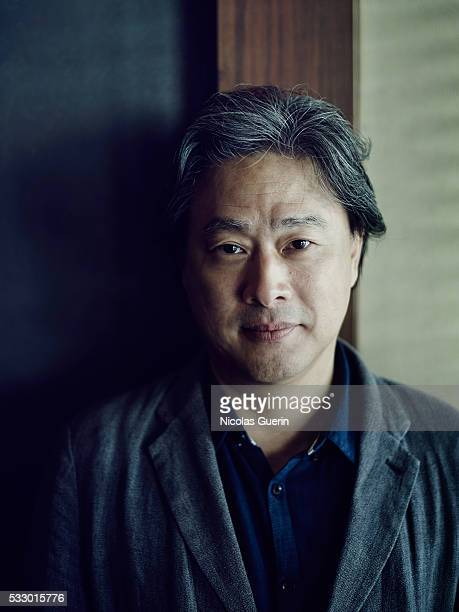 Director Park Chanwook is photographed for Self Assignment on May 15 2016 in Cannes France