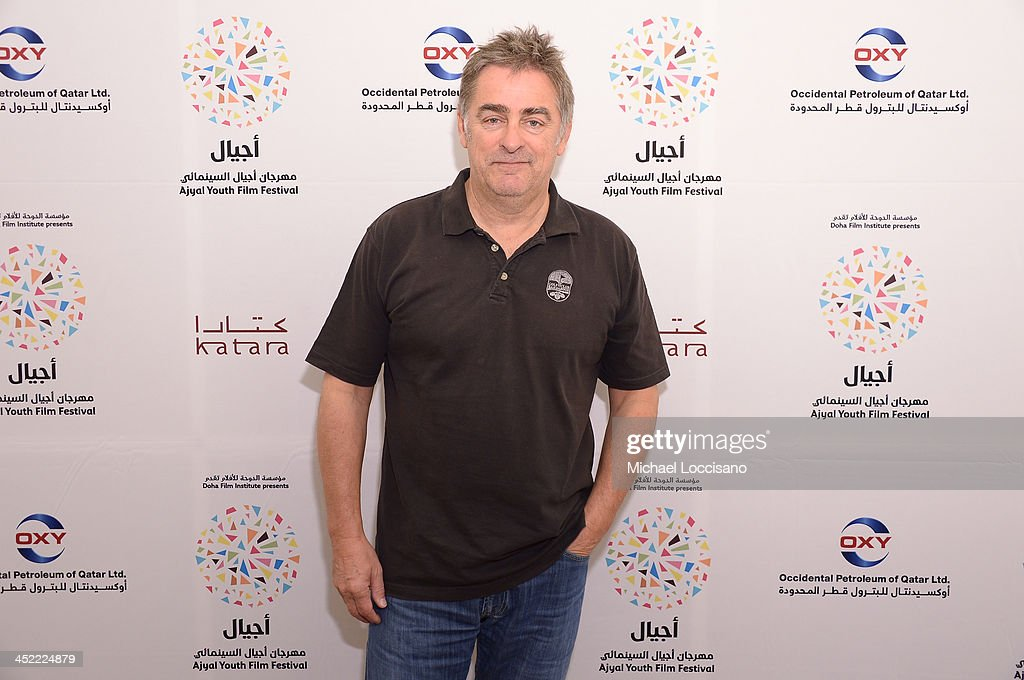 Director Pascal Plisson attends the 'On the way to School' talk during Day two of the Ajyal Youth Film Festival on November 27, 2013 in Doha, Qatar.