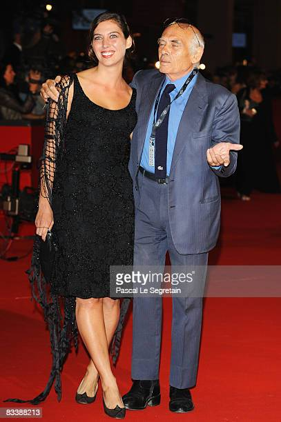 Director Pasquale Squitieri and daughter Claudine Squitieri attend the Marc'Aurelio Acting Award Red Carpet during the 3rd Rome International Film...