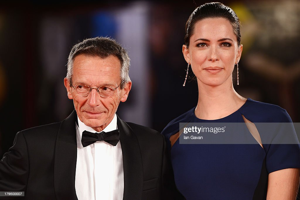 Director Patrice Leconte and actress Rebecca Hall attends the 'Une Promesse' Premiere during the 70th Venice International Film Festival at Sala...