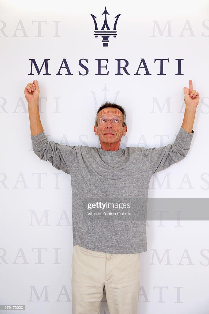 Director Patrice Leconte attends the 70th Venice International Film Festival at Terrazza Maserati on September 4 2013 in Venice Italy