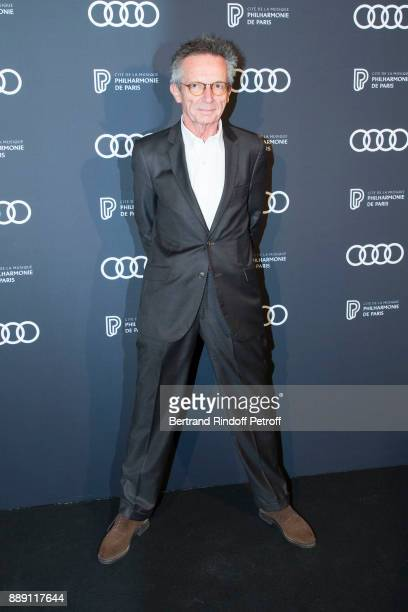 Director Patrice Leconte attends 'The Celebration of Gabriel Yared 's Film Music' at Philharmonie De Paris on December 9 2017 in Paris France