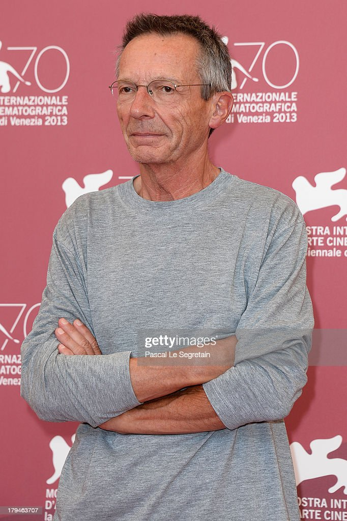 Director <a gi-track='captionPersonalityLinkClicked' href=/galleries/search?phrase=Patrice+Leconte&family=editorial&specificpeople=224040 ng-click='$event.stopPropagation()'>Patrice Leconte</a> attends 'Une Promesse' Photocall during the 70th Venice International Film Festival at Palazzo del Casino on September 4, 2013 in Venice, Italy.