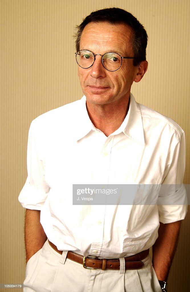 Director Patrice Leconte during 2002 Toronto Film Festival 'L' Homme Du Train' Portraits at Mariott Hotel in Toronto Ontario Canada