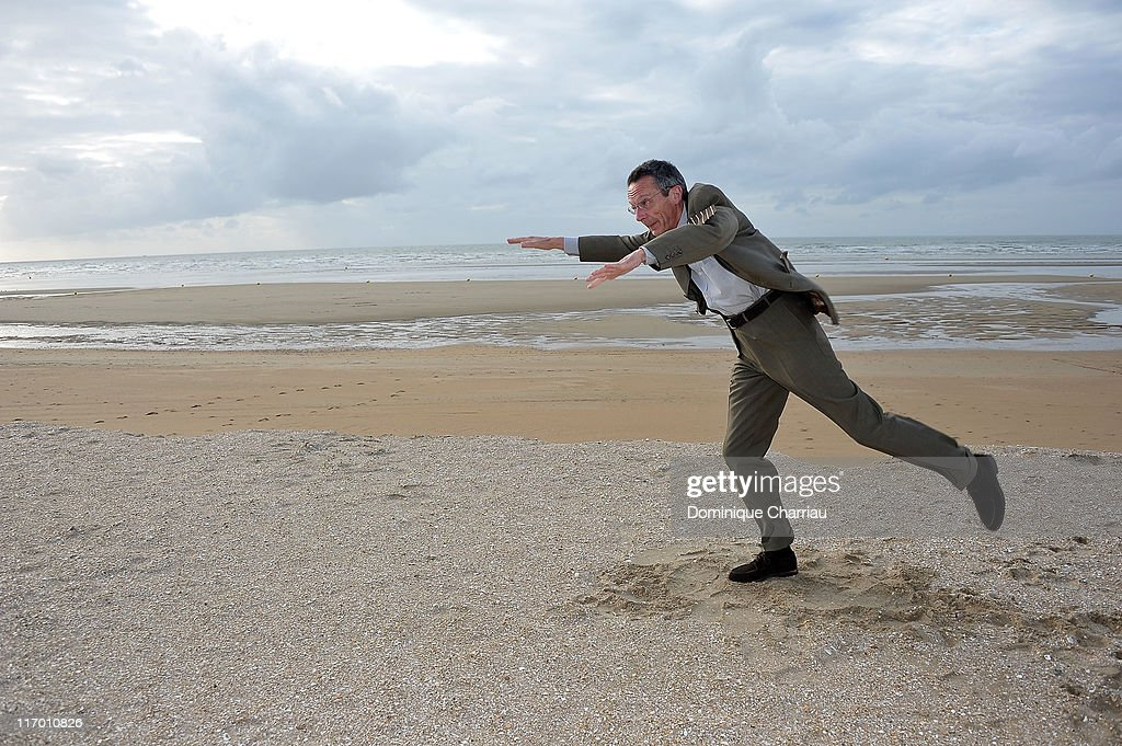Director Patrice Leconte poses as he attends the 25th Cabourg Film Festival on June 18 2011 in Cabourg France