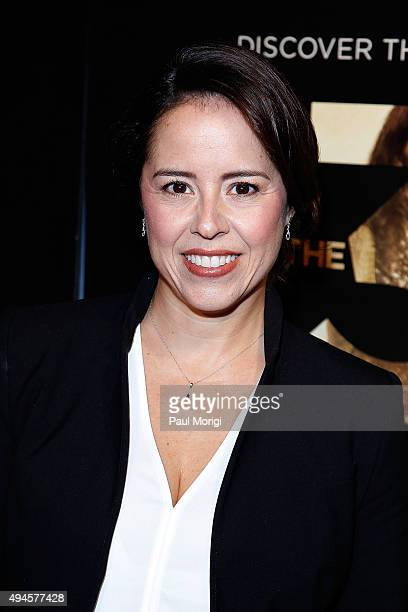 Director Patricia Riggen attends Washington DC premiere of the film 'The 33' at The Newseum on October 27 2015 in Washington DC