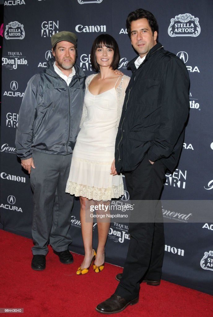 Director Patrick Hoelck, actress Wendy Glenn and actor Troy Garity attend the 15th annual Gen Art Film Festival screening of 'Mercy' at the School of Visual Arts on April 13, 2010 in New York City.