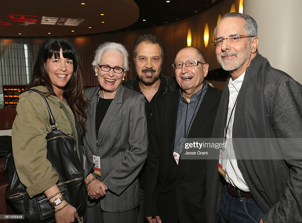 Director Patty Jenkins, Jean Firstenberg, director Edward Zwick, AFI Distinguished Scholar-In-Residence Jim Hosney and director Jon Avnet attend Target Presents AFI's Night at the Movies at ArcLight Cinemas on April 24, 2013 in Hollywood, California.