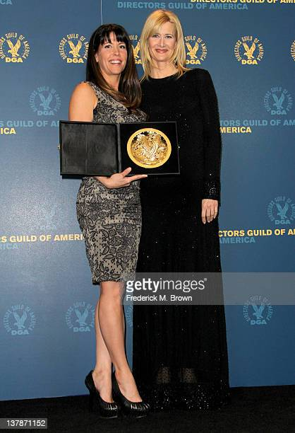 Director Patty Jenkins winner of the award for Outstanding Directorial Achievement in Dramatic Series for 'The Killing' pilot espide and presenter...