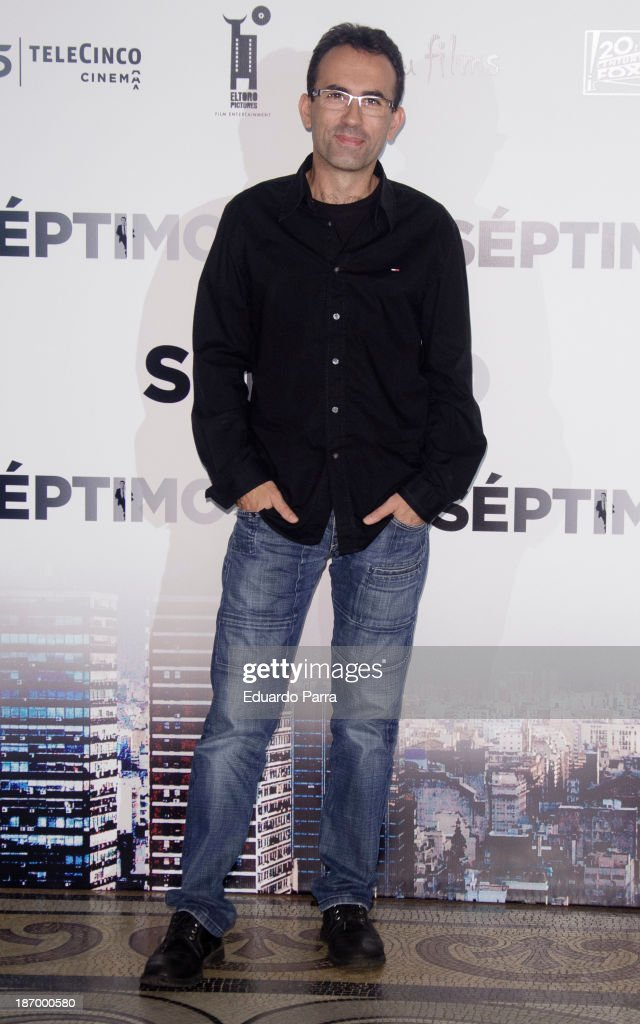 Director Patxi Amezcua attends the 'Septimo' photocall at the Casa de America on November 5, 2013 in Madrid, Spain.