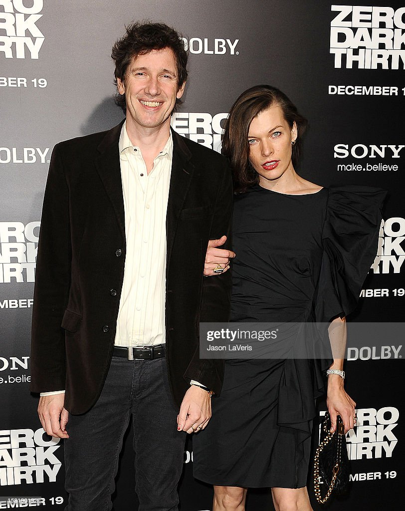 Director Paul WS Anderson and actress Milla Jovovich attend the premiere of 'Zero Dark Thirty' at the Dolby Theatre on December 10, 2012 in Hollywood, California.