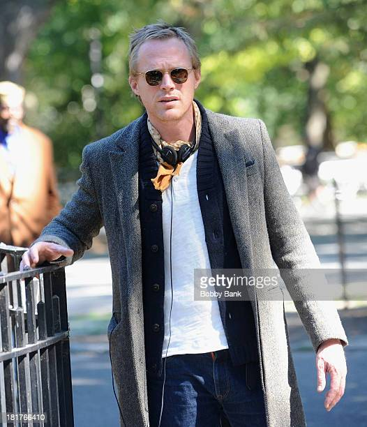 Director Paul Bettany on the set of 'Shelter' on September 24 2013 in New York City
