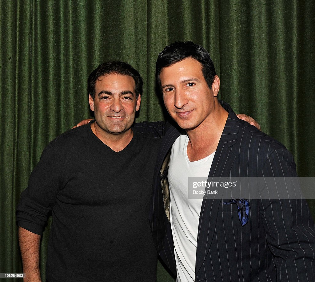 Director Paul Borghese and actor William DeMeo attend the 'Once Upon A Time in Brooklyn' screening at Resorts Casino Hotel on May 11, 2013 in Atlantic City, New Jersey.