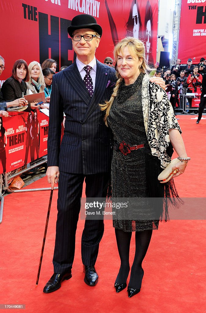 Director Paul Feig (L) and Laurie Karon attend a gala screening of 'The Heat' at The Curzon Mayfair on June 13, 2013 in London, England.