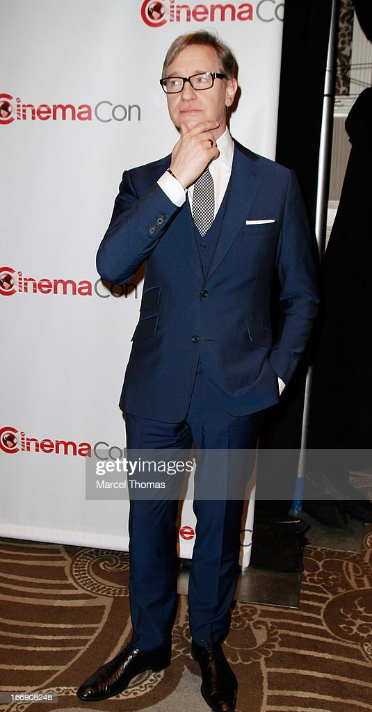 Director <a gi-track='captionPersonalityLinkClicked' href=/galleries/search?phrase=Paul+Feig&family=editorial&specificpeople=2367893 ng-click='$event.stopPropagation()'>Paul Feig</a> arrives at the 20th Century Fox Cinemacon Press Conference at Caesars Palace during CinemaCon 2013 on April 18, 2013 in Las Vegas, Nevada.