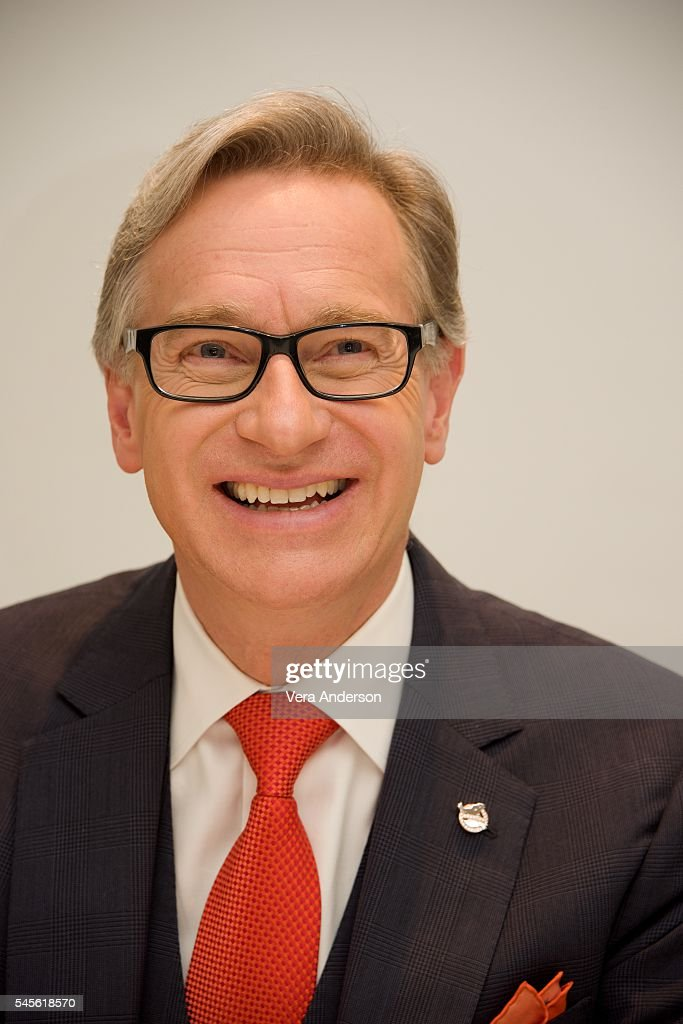 Director Paul Feig at the 'Ghostbusters' Press Conference at the Four Seasons Hotel on July 8 2016 in Beverly Hills California