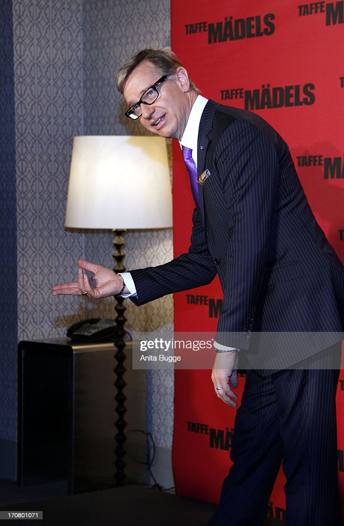 Director <a gi-track='captionPersonalityLinkClicked' href=/galleries/search?phrase=Paul+Feig&family=editorial&specificpeople=2367893 ng-click='$event.stopPropagation()'>Paul Feig</a> attends a 'Taffe Maedels' photocall at Hotel De Rome on June 18, 2013 in Berlin, Germany.