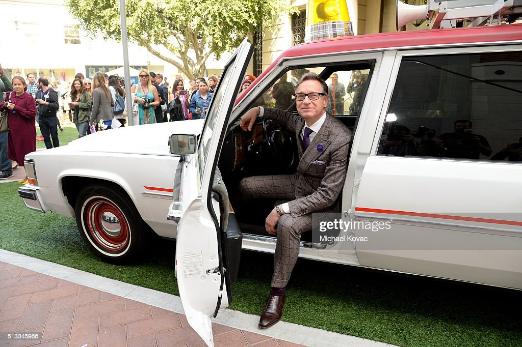 Director Paul Feig attends the 'Ghostbusters' Fan Event Photo Call at Sony Pictures Studios on March 2 2016 in Culver City California