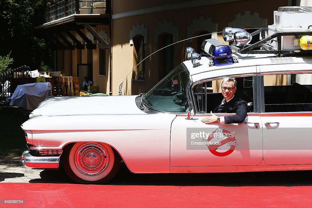 Director <a gi-track='captionPersonalityLinkClicked' href=/galleries/search?phrase=Paul+Feig&family=editorial&specificpeople=2367893 ng-click='$event.stopPropagation()'>Paul Feig</a> attends the 'Ghostbusters' photocall at La Casa Del Cinema on June 27, 2016 in Rome, Italy.