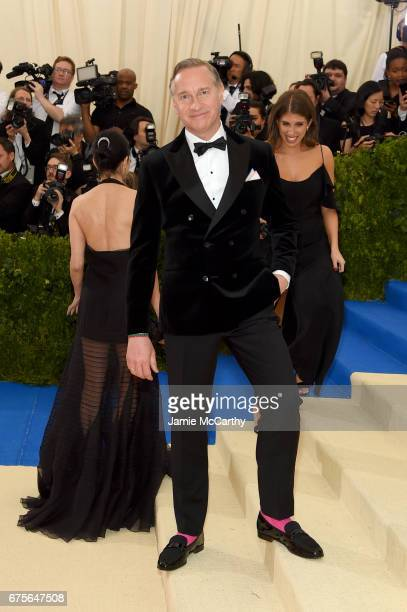 Director Paul Feig attends the 'Rei Kawakubo/Comme des Garcons Art Of The InBetween' Costume Institute Gala at Metropolitan Museum of Art on May 1...