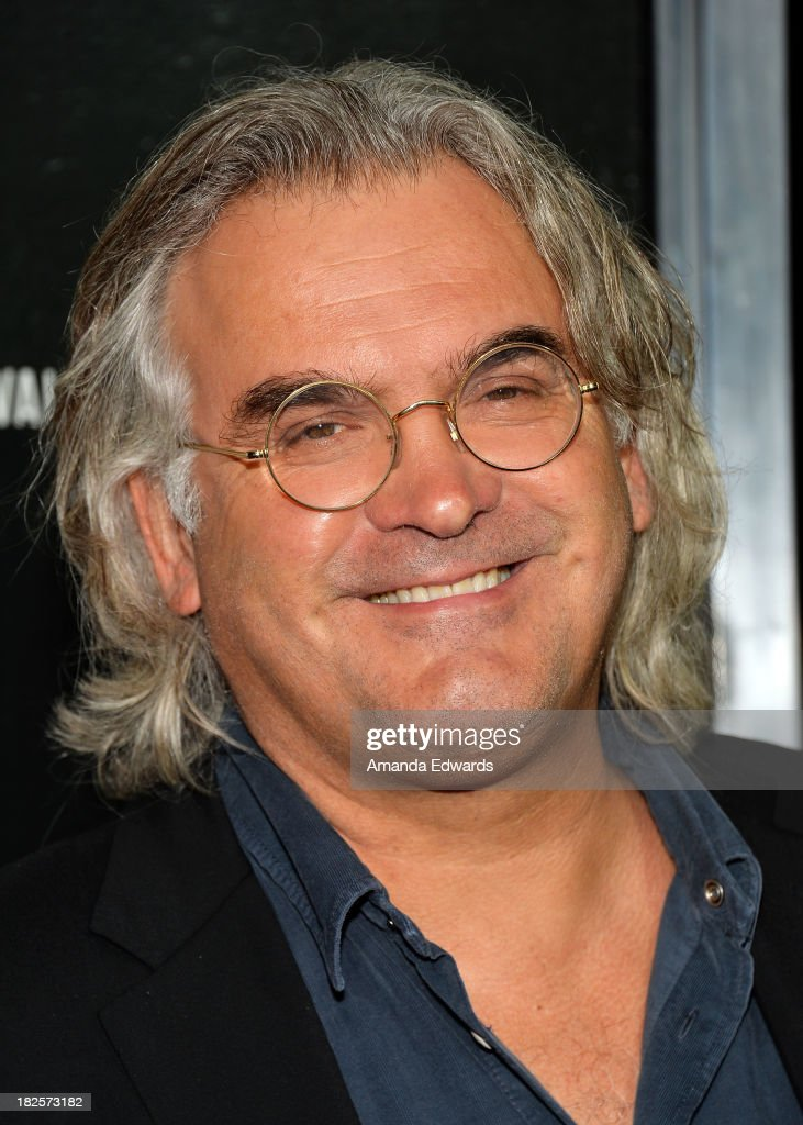 Director <a gi-track='captionPersonalityLinkClicked' href=/galleries/search?phrase=Paul+Greengrass&family=editorial&specificpeople=240256 ng-click='$event.stopPropagation()'>Paul Greengrass</a> arrives at the Los Angeles premiere of 'Captain Phillips' at the Academy of Motion Picture Arts and Sciences on September 30, 2013 in Beverly Hills, California.