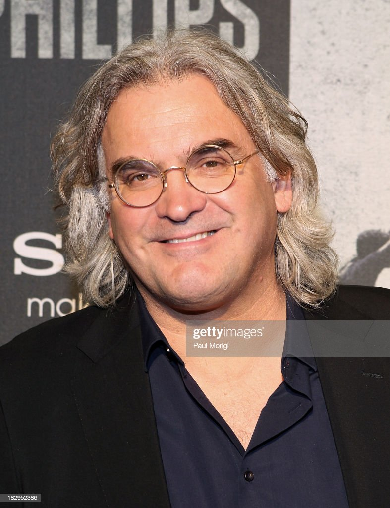 Director <a gi-track='captionPersonalityLinkClicked' href=/galleries/search?phrase=Paul+Greengrass&family=editorial&specificpeople=240256 ng-click='$event.stopPropagation()'>Paul Greengrass</a> arrives at the screening of 'Captain Phillips' at The Newseum on October 2, 2013 in Washington, DC.