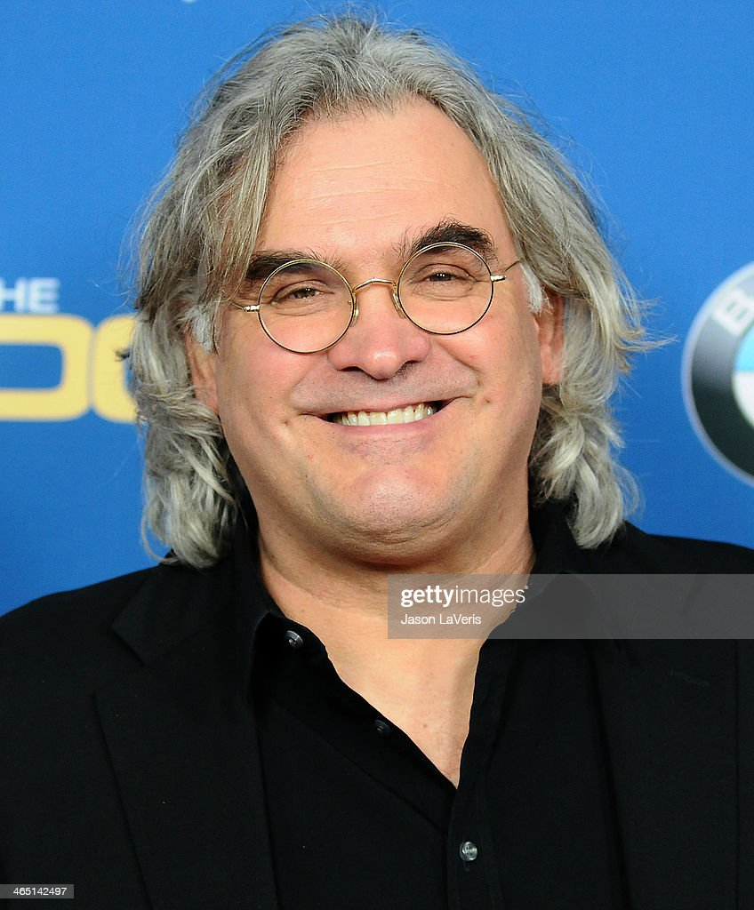 Director <a gi-track='captionPersonalityLinkClicked' href=/galleries/search?phrase=Paul+Greengrass&family=editorial&specificpeople=240256 ng-click='$event.stopPropagation()'>Paul Greengrass</a> attends the 66th annual Directors Guild of America Awards at the Hyatt Regency Century Plaza on January 25, 2014 in Century City, California.