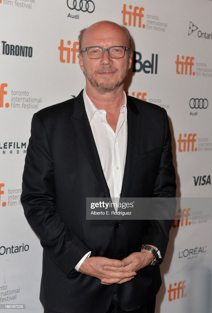 Director <a gi-track='captionPersonalityLinkClicked' href=/galleries/search?phrase=Paul+Haggis&family=editorial&specificpeople=213967 ng-click='$event.stopPropagation()'>Paul Haggis</a> arrives at the 'Third Person' Premiere during the 2013 Toronto International Film Festival at The Elgin on September 9, 2013 in Toronto, Canada.