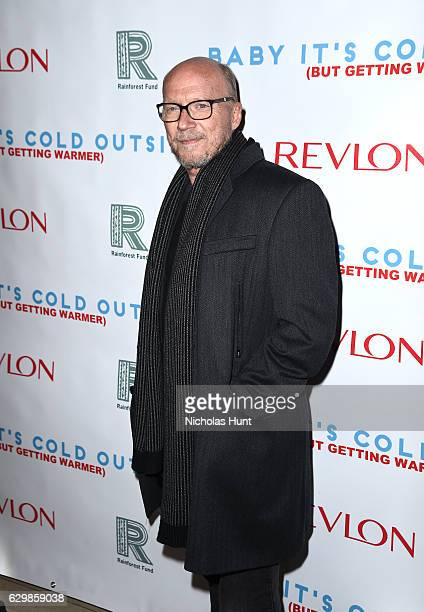 Director Paul Haggis attends 'Baby It's Cold Outside' The 2016 Revlon Holiday Concert for The Rainforest Fund Gala at JW Marriott Essex House on...