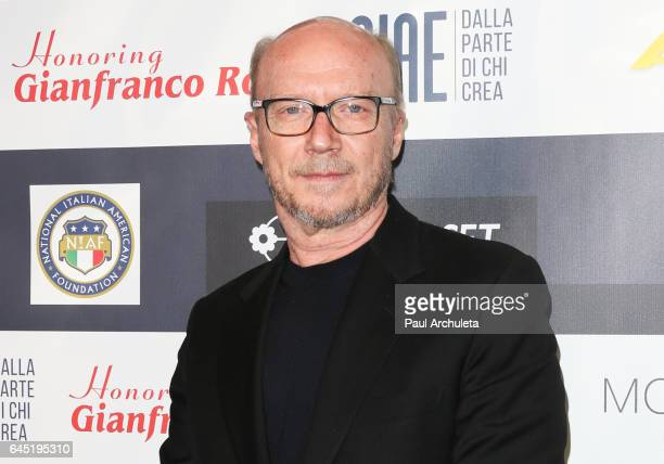 Director Paul Haggis attends the 12th edition of The Los Angeles Italia Film Fashion and Art Fest closing nite at TCL Chinese 6 Theatres on February...