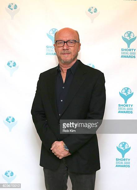 Director Paul Haggis attends the 1st Annual Shorty Social Good Awards at Apella on November 16 2016 in New York City