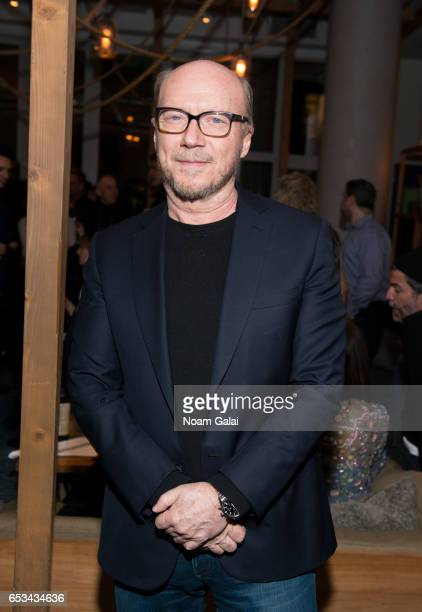 Director Paul Haggis attends the after party for 'T2 Trainspotting' hosted by TriStar Pictures and The Cinema Society with 19 Crimes at Mr Purple on...