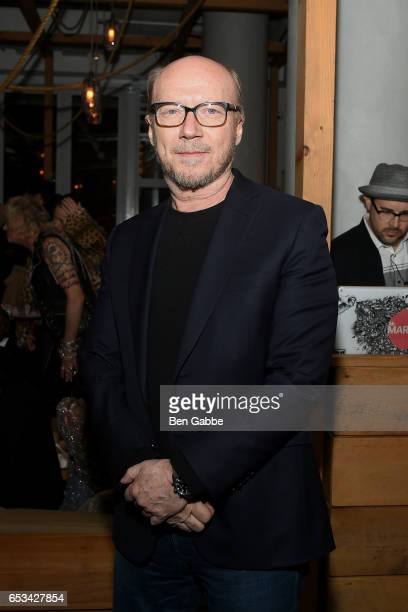Director Paul Haggis attends the after party for the TriStar and Cinema Society screening of 'T2 Trainspotting' at Mr Purple at the Hotel Indigo LES...