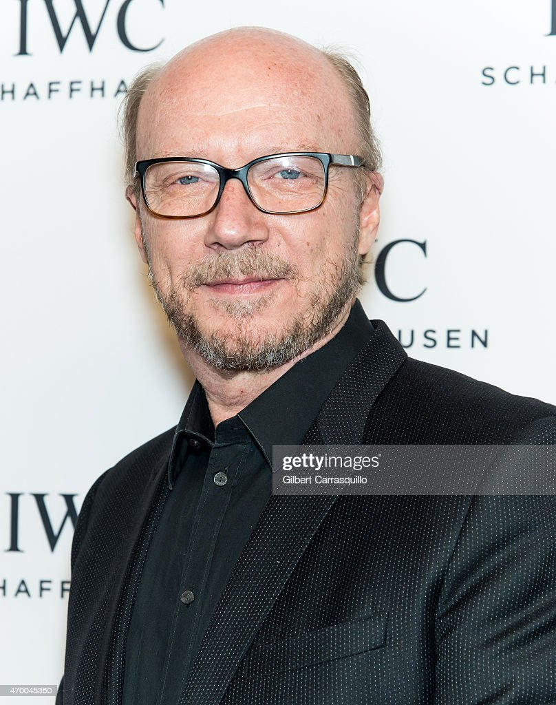 Director Paul Haggis attends the IWC Schaffhausen third annual 'For the Love of Cinema' dinner during Tribeca Film Festival at Spring Studios on April 16, 2015 in New York City.