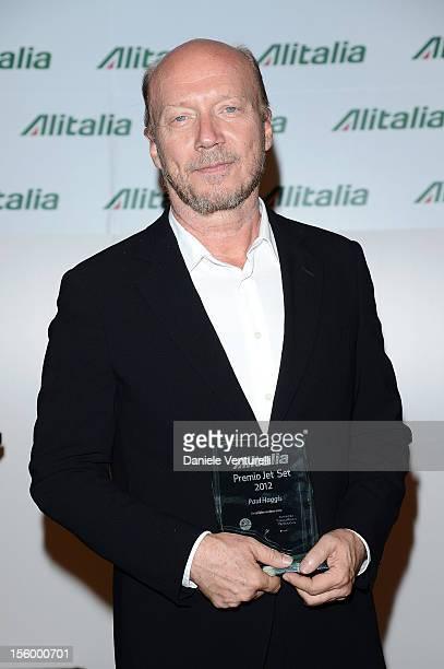 Director Paul Haggis attends the Jet Set Party Alitalia at Residenza di Ripetta on November 10 2012 in Rome Italy